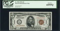 Small Size:World War II Emergency Notes, Fr. 2302 $5 1934A Hawaii Federal Reserve Note. PCGS Gem New 65PPQ.. ...