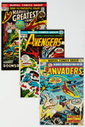 Bronze Age (1970-1979):Superhero, Marvel Bronze to Modern Age Group (Marvel, 1972-93) Condition: Average FN/VF.... (Total: 15 )