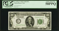 Fr. 2151-C $100 1928A Dark Green Seal Federal Reserve Note. PCGS Choice About New 58PPQ