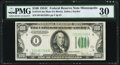 Fr. 2155-I $100 1934C Federal Reserve Note. PMG Very Fine 30