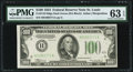 Fr. 2152-H $100 1934 Dark Green Seal Federal Reserve Note. PMG Choice Uncirculated 63 EPQ