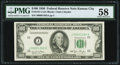 Fr. 2157-J $100 1950 Federal Reserve Note. PMG Choice About Unc 58