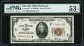 Fr. 1870-E $20 1929 Federal Reserve Bank Note. PMG About Uncirculated 53 EPQ