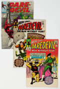 Silver Age (1956-1969):Superhero, Daredevil Group of 4 (Marvel, 1964-69) Condition: Average FN.... (Total: 4 )