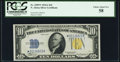 Fr. 2309* $10 1934A North Africa Silver Certificate Star. PCGS Choice About New 58