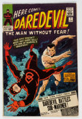 Silver Age (1956-1969):Superhero, Daredevil #7 (Marvel, 1965) Condition: VG....