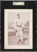 Baseball Cards:Singles (Pre-1930), 1910-12 Plow Boy Ed Walsh (Ad Back) SGC 60 EX 5 - Only Four SGC/PSA Graded Examples! ...