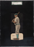 Baseball Cards:Singles (Pre-1930), 1910 E125 American Caramel Honus Wagner (Batting) SGC 40 VG 3 - The Finest of Only Three Graded Examples! ...