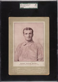 Baseball Cards:Singles (Pre-1930), 1902-11 W600 Sporting Life (Type 4) Rube Waddell (Uniform-Philadelphia) SGC 50 VG/EX 4 - Pop One, None Higher! ...