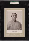Baseball Cards:Singles (Pre-1930), 1902-11 W600 Sporting Life (Type 4) Miller Huggins SGC 84 NM 7 - The Only Graded Example! ...