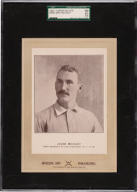 1902-11 W600 Sporting Life (Type 2) Jacob Beckley SGC 70 EX+ 5.5 - Pop One, None Higher!