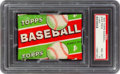 Baseball Cards:Unopened Packs/Display Boxes, 1955 Topps Baseball 1-Cent Wax Pack PSA NM-MT 8. ...