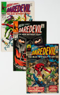 Silver Age (1956-1969):Superhero, Daredevil Group of 38 (Marvel, 1966-76) Condition: Average FN.... (Total: 38 )