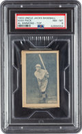 Baseball Cards:Singles (1930-1939), 1933 Uncle Jacks Candy Unopened Pack Al Simmons PSA NM-MT 8 - The Only Graded Pack! ...
