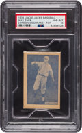 Baseball Cards:Singles (1930-1939), 1933 Uncle Jacks Candy Unopened Pack Mickey Cochrane PSA NM-MT 8. ...
