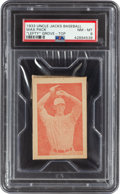 Baseball Cards:Singles (1930-1939), 1933 Uncle Jacks Candy Unopened Pack Lefty Grove PSA NM-MT 8. ...