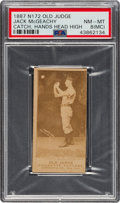 Baseball Cards:Singles (Pre-1930), 1887-90 N172 Old Judge Jack McGeachy (#310-3) PSA NM-MT 8 (MC). ...