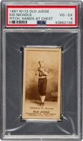 Baseball Cards:Singles (Pre-1930), 1887-90 N172 Old Judge Kid Nichols (#342-3) PSA VG-EX 4. ...