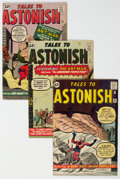 Silver Age (1956-1969):Superhero, Tales to Astonish #36-39 Ant-Man Group (Marvel, 1962-63) Condition: Average VG.... (Total: 4 Comic Books)