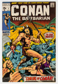 Bronze Age (1970-1979):Adventure, Conan the Barbarian #1 (Marvel, 1970) Condition: VG....