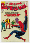 Silver Age (1956-1969):Superhero, The Amazing Spider-Man #10 (Marvel, 1964) Condition: VG+....