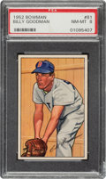 Baseball Cards:Singles (1950-1959), 1952 Bowman Billy Goodman #81 PSA NM-MT 8....