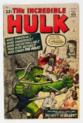 Silver Age (1956-1969):Superhero, The Incredible Hulk #5 (Marvel, 1963) Condition: VG-....