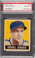 Baseball Cards:Singles (1940-1949), 1948 Leaf Orval Grove #66 PSA NM-MT 8 - Pop Five, None Higher! ...