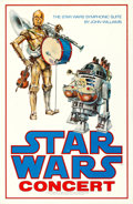 "Movie Posters:Science Fiction, Star Wars (20th Century Fox, 1978). Rolled, Fine+. Concert Poster (24"" X 37"").. ..."