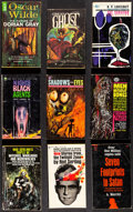 """Movie Posters:Horror, Horror Paperback Book Lot (Various, 1949-1975). Overall: Fine+. Paperback Books (17) (Multiple Pages, 4.25"""" X 6.5 & 4.5"""" X 7... (Total: 17 Items)"""