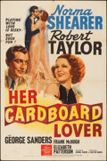 """Movie Posters:Comedy, Her Cardboard Lover (MGM, 1942). Folded, Fine/Very Fine. One Sheet (27"""" X 41"""") Style C. Comedy.. ..."""