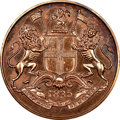 India:British India, India: British India. East India Company Proof Restrike 1/4 Anna 1835-(C) PR64 Red and Brown NGC,...