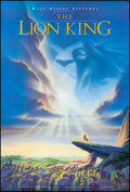 """Movie Posters:Animation, The Lion King (Buena Vista, 1994). Rolled, Very Fine/Near Mint. One Sheet (27"""" X 40"""") DS, Advance. John Alvin Artwork. Anima..."""