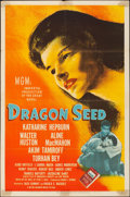 """Movie Posters:War, Dragon Seed (MGM, 1944). Folded, Fine. One Sheet (27"""" X 41"""") Style C. War.. ..."""