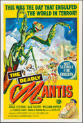 """Movie Posters:Science Fiction, The Deadly Mantis (Universal International, 1957). Folded, Very Fine+. Australian One Sheet (27"""" X 40""""). Science Fiction.. ..."""