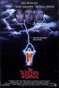 "The Witches of Eastwick & Other Lot (Warner Brothers, 1987). Rolled, Overall: Very Fine-. One Sheets (2) (27"" X..."
