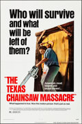 """Movie Posters:Horror, The Texas Chainsaw Massacre (Bryanston, 1974). Folded, Very Fine-. One Sheet (27"""" X 41""""). Horror.. ..."""