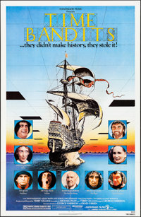 "Time Bandits (Avco Embassy, 1981). Folded, Very Fine. One Sheet (27"" X 41""). Fantasy"