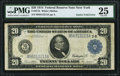 Gutter Fold Error Fr. 971b $20 1914 Federal Reserve Note PMG Very Fine 25