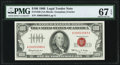 Small Size:Legal Tender Notes, Fr. 1550 $100 1966 Legal Tender Note. PMG Superb Gem Unc 67 EPQ.. ...