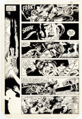 Original Comic Art:Panel Pages, Gene Day Master of Kung Fu #114 Story Page 26 Original Art (Marvel, 1982)....