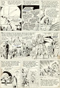 Original Comic Art:Panel Pages, Jack Kirby and Chic Stone Fantastic Four Annual #2 Story Page 12 Doctor Doom Original Art (Marvel, 1964)....