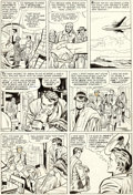 Original Comic Art:Panel Pages, Jack Kirby and Chic Stone Fantastic Four Annual #2 Story Page 8 Doctor Doom Original Art (Marvel, 1964)....
