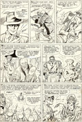 Original Comic Art:Panel Pages, Jack Kirby and Chic Stone Fantastic Four Annual #2 Story Page 6 Doctor Doom Original Art (Marvel, 1964)....