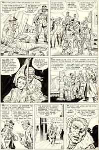 Jack Kirby and Chic Stone Fantastic Four Annual #2 Story Page 3 Doctor Doom Original Art (Marvel, 1964)