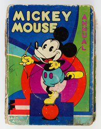 Mickey Mouse Annual - UK Edition (Dean & Son, 1932)