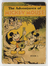 The Adventures of Mickey Mouse Book I Hardcover Edition (David McKay Publications, 1931) Condition: GD/VG