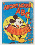 Books:General, Mickey Mouse #921 A Mickey Mouse ABC Story (Whitman, 1936) Condition: VG....