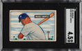 Baseball Cards:Singles (1950-1959), 1951 Bowman Mickey Mantle #253 SGC VG/EX+ 4.5....