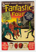 Silver Age (1956-1969):Superhero, Fantastic Four #11 (Marvel, 1963) Condition: VG-....
